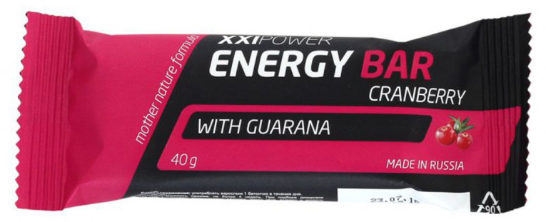 Батончик XXI Power Energy Bar (50 г)